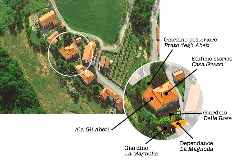 Serole vista dal satellite