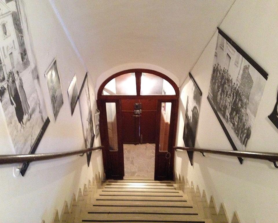 Casa Grassi scala interna