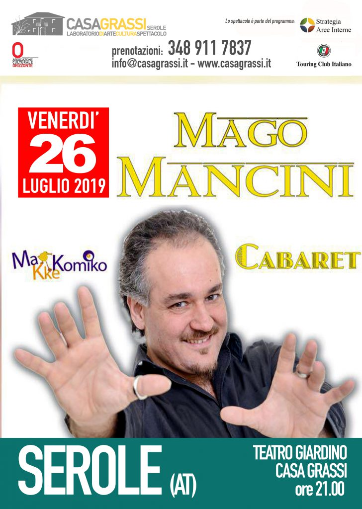 Calendario 2019 Attrici.Calendario Spettacoli Stagione 2019 Casa Grassi